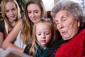 teens showing empathy to elders