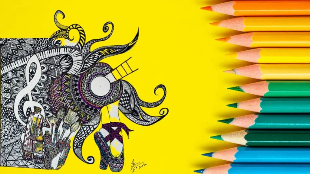 Mandala Art depicting creativity